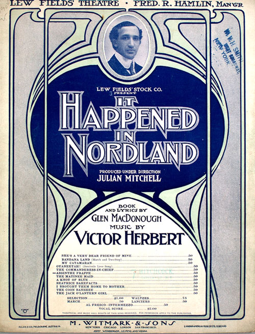 It Happened In Nordland - Sheet Music